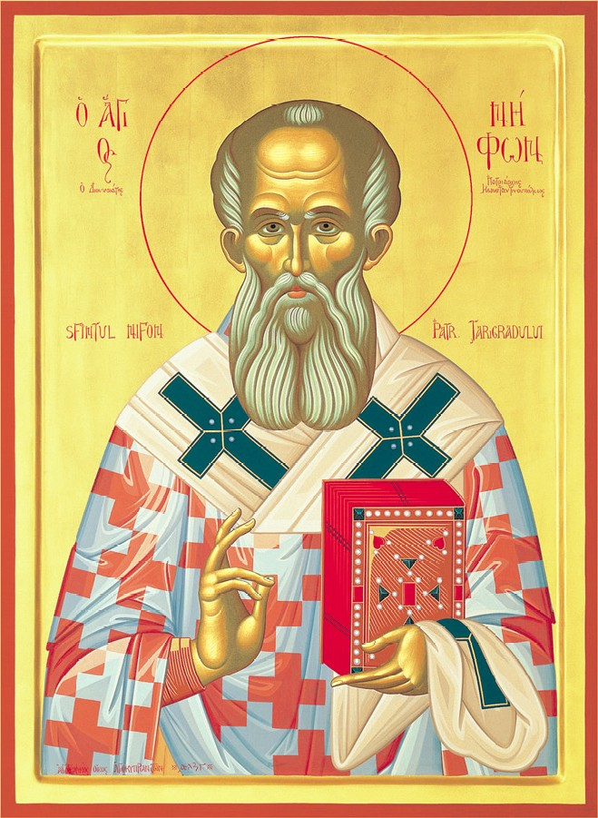 Αποτέλεσμα εικόνας για sfantul nifon patriarhul constantinopolului