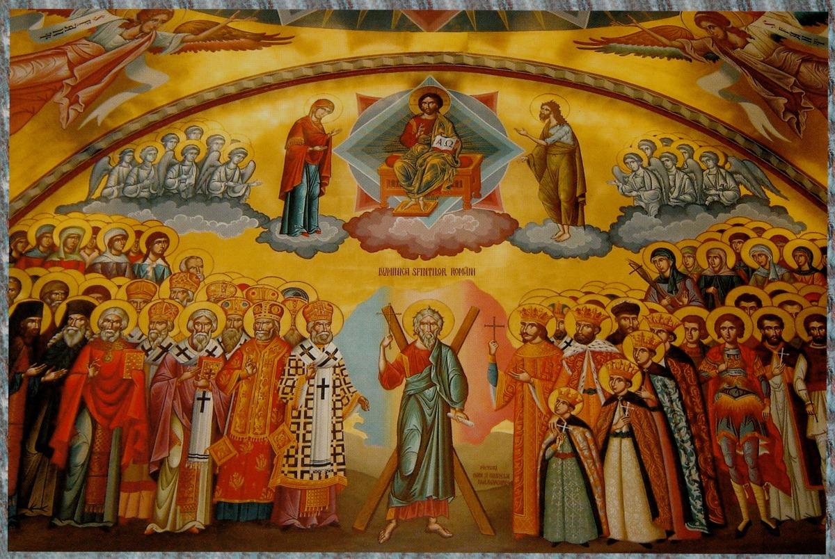 Image result for sfintii lui dumnezeu imagini