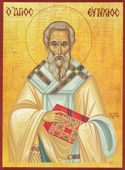 Viaţa Sfântului Ierarh Eutihie, Patriarhul Constantinopolului ...