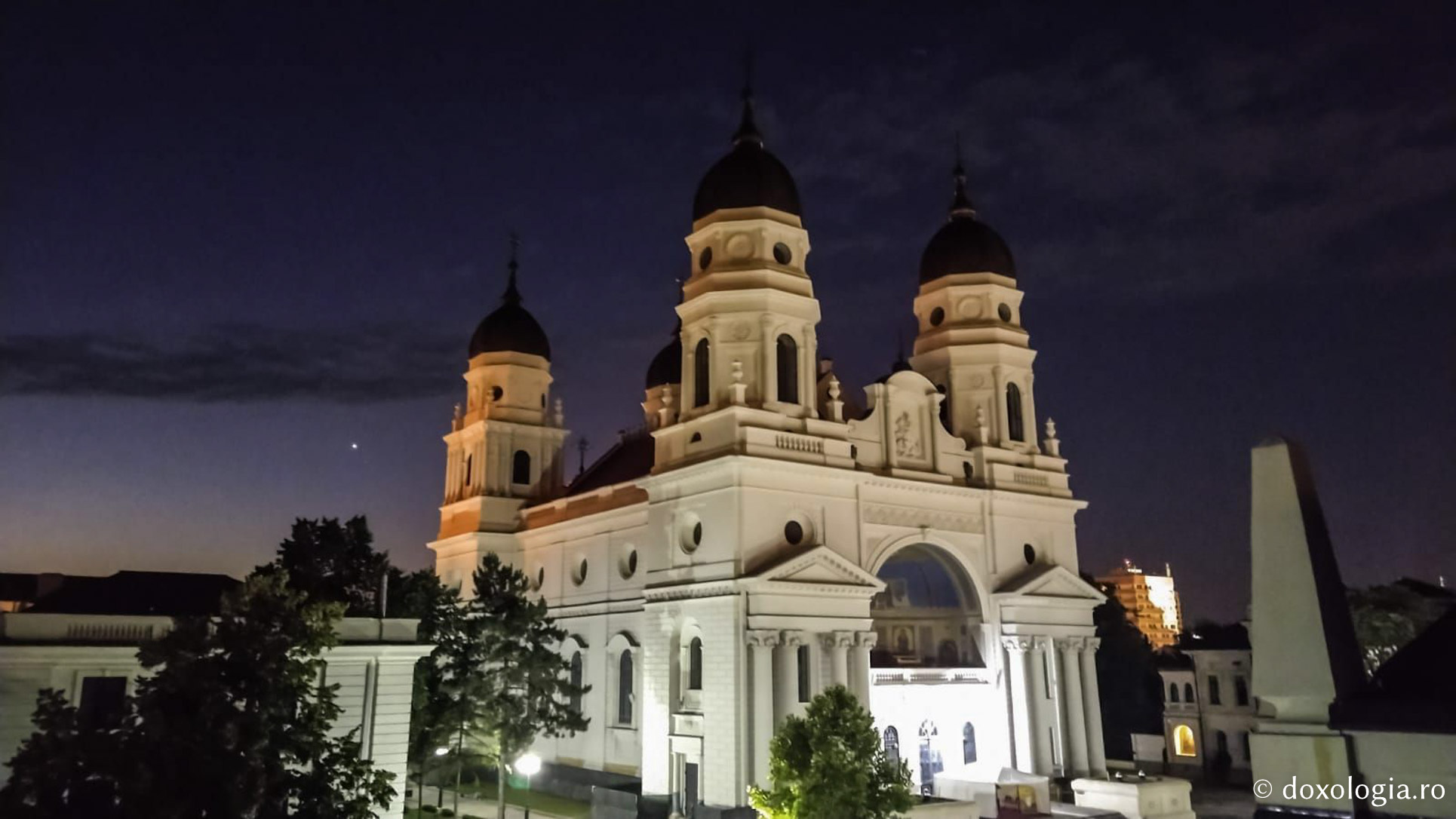 Foto) Catedrala Mitropolitană din Iași | Doxologia