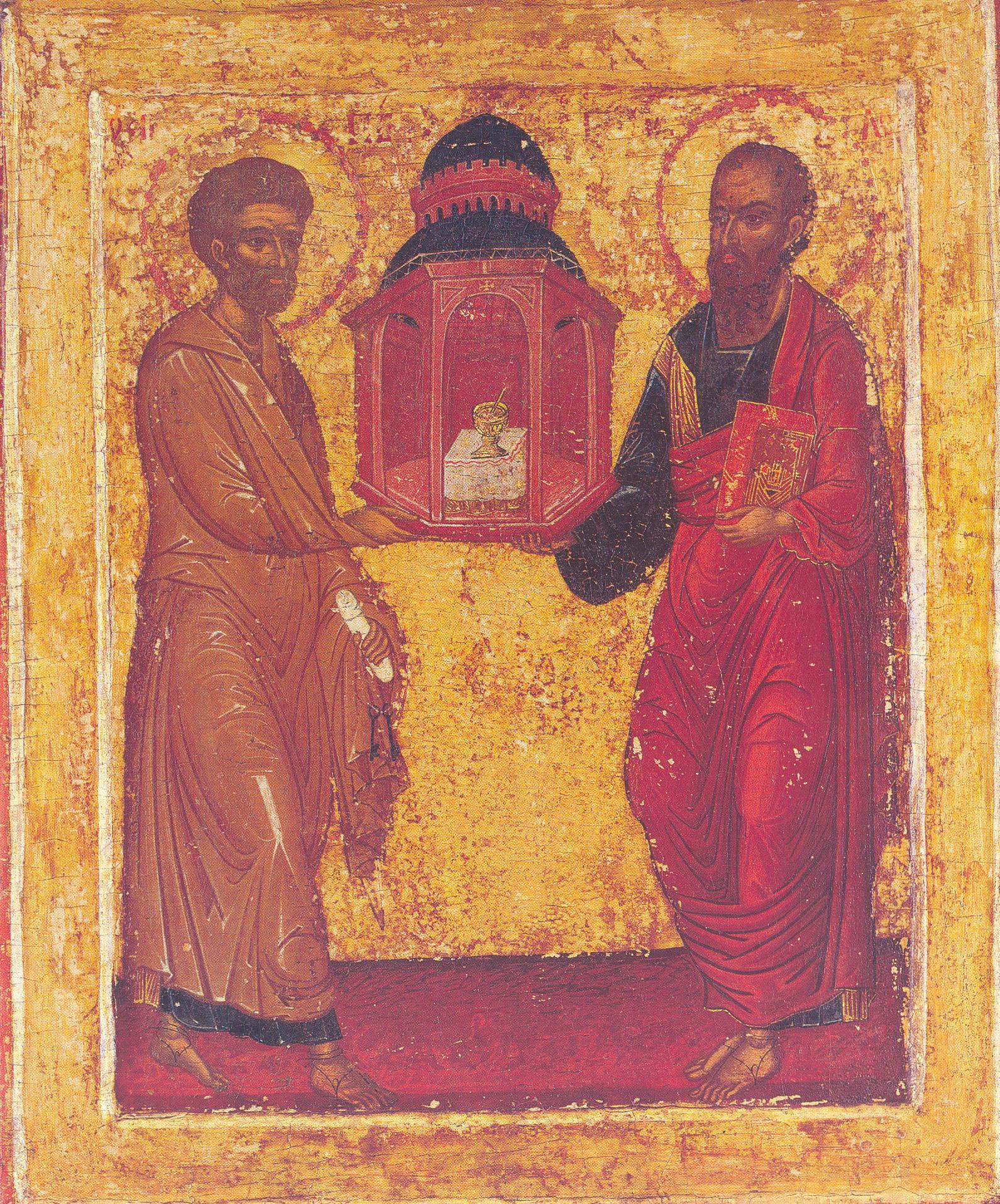 SFINŢII PETRU ŞI PAVEL: De ce trebuie să te speli pe faţă...  |Sf. Petru Si Pavel