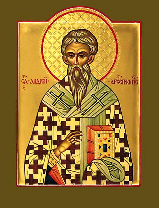 Imagini pentru Cuvânt al Sfântului Andrei, Arhiepiscopul Cretei